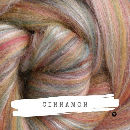 Ashford Silk Merino Cinnamon Fibre Roving