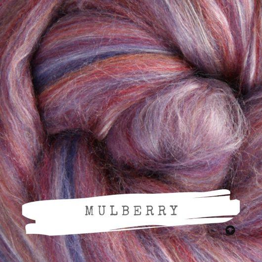 Ashford Silk Merino Mulberry available on Wool Craft