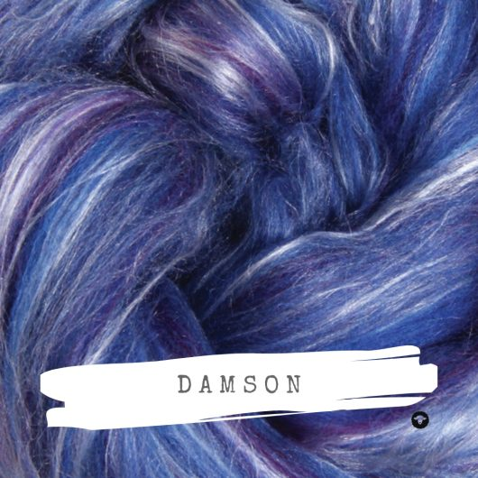Ashford Silk Merino Damson available on Wool Craft