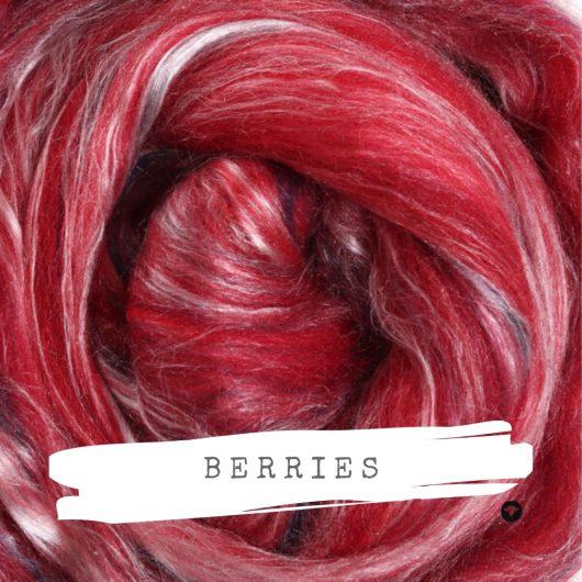 Ashford Silk Merino available on Wool Craft in Berries