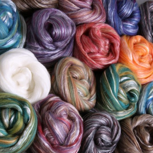 Ashford Silk Merino available on Wool Craft in 20 colourways