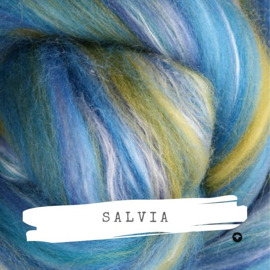 Ashford Silk Merino Salvia available on Wool Craft
