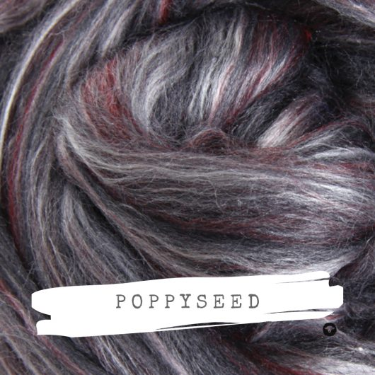 Ashford Silk Merino Poppyseed available on Wool Craft