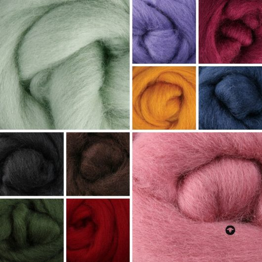 Ashford Corriedale Rovings - Full Range available onilne for sale with Wool Craft SA