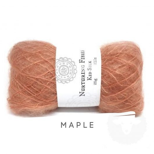 Buy Nurturing Fibres KidSilk Lace online - Maple