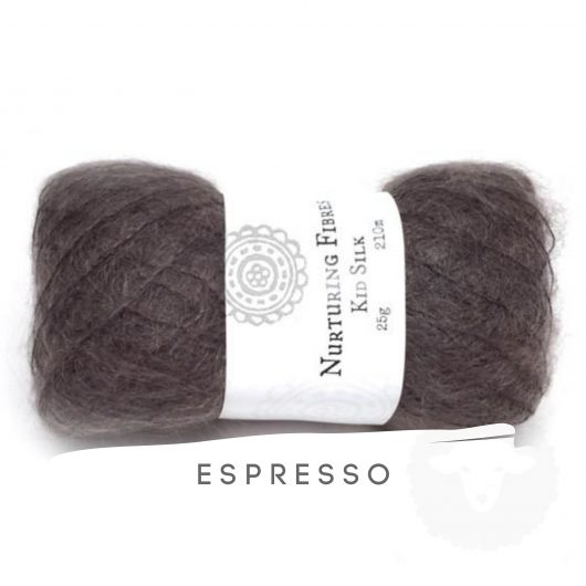 Buy Nurturing Fibres KidSilk Lace online - Espresso