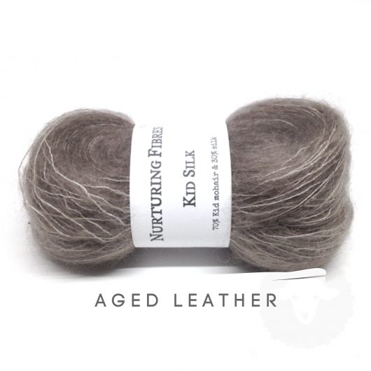 Buy Nurturing Fibres KidSilk Lace online - Aged Leather