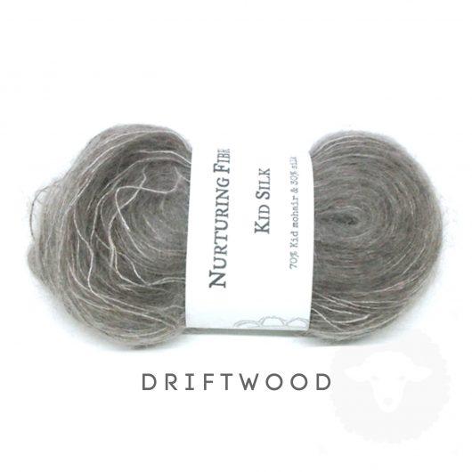 Buy Nurturing Fibres KidSilk Lace online - Driftwood
