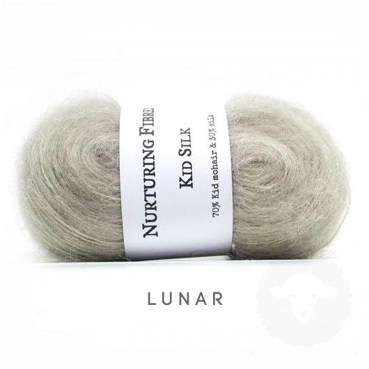 Buy Nurturing Fibres KidSilk Lace online - Lunar