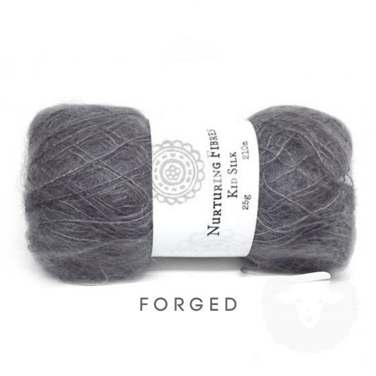 Buy Nurturing Fibres KidSilk Lace online - Smokey Nights