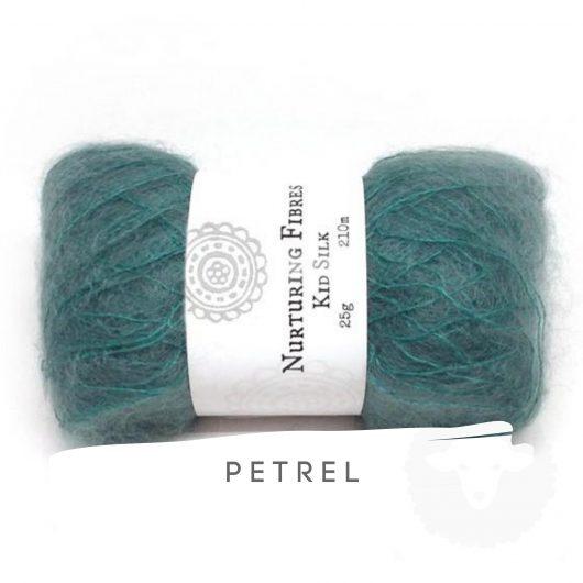 Buy Nurturing Fibres KidSilk Lace online - Petrel