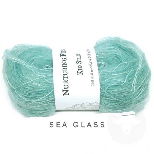 Buy Nurturing Fibres KidSilk Lace online - Sea Glass