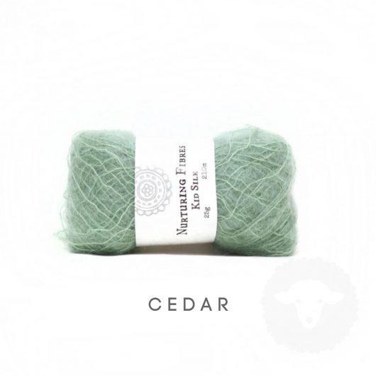 Buy Nurturing Fibres KidSilk Lace online - Cedar