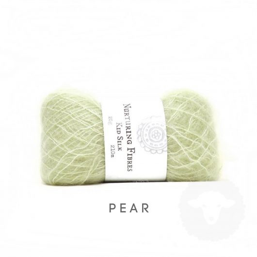 Buy Nurturing Fibres KidSilk Lace online - Pear
