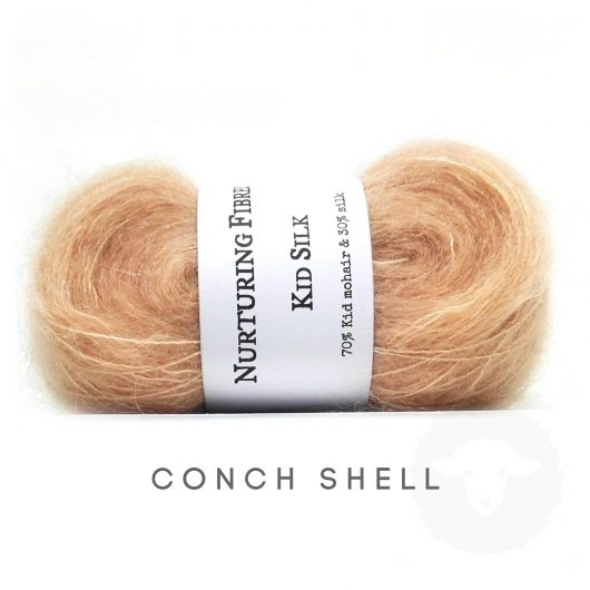 Buy Nurturing Fibres KidSilk Lace online - Conch Shell
