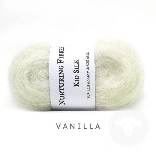 Buy Nurturing Fibres KidSilk Lace online - Vanilla
