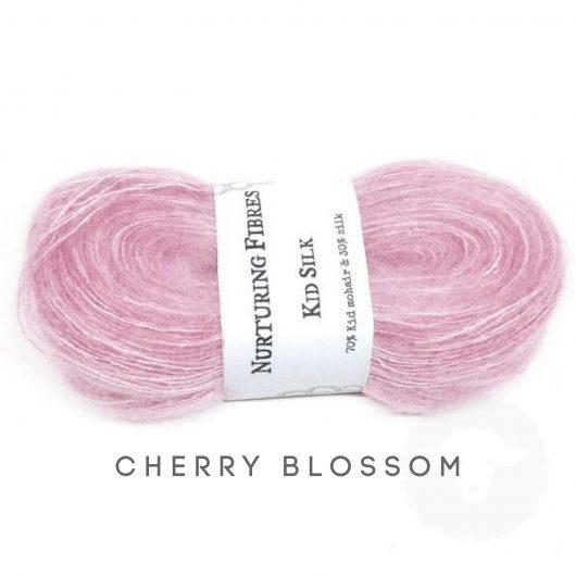Buy Nurturing Fibres KidSilk Lace online - Cherry Blossom