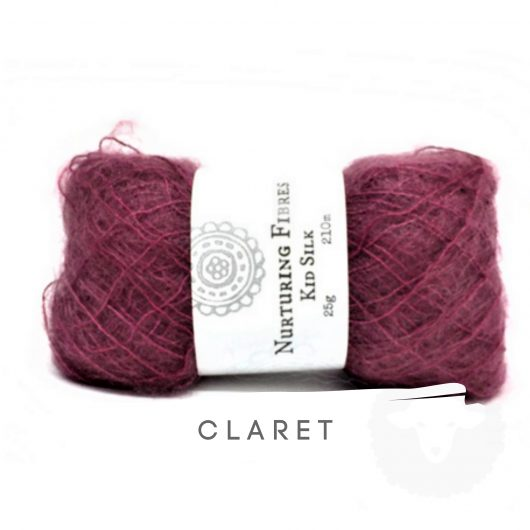 Buy Nurturing Fibres KidSilk Lace online - Claret