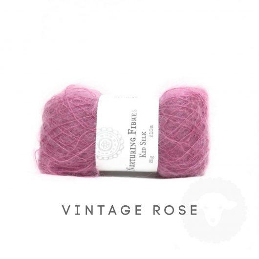 Buy Nurturing Fibres KidSilk Lace online - Vintage Rose
