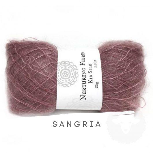 Buy Nurturing Fibres KidSilk Lace online - Sangria